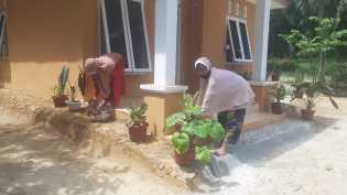 Bedah Rumah Program TMMD Selesai, Nek Halimah Mulai Menata Rumah