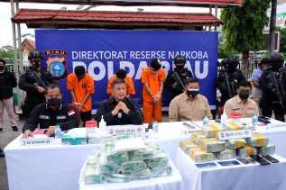 Penyeludupan 36 Kg Sabu di Riau Berhasil Digagalkan