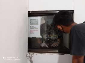 Satgas Covid-19 Inhil Inspeksi Islamic Center dan Pihak Penyedia Makanan
