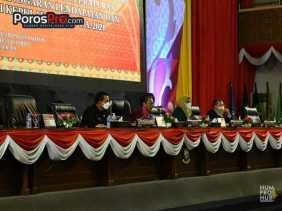 Perubahan APBD Provinsi Kepri Tahun Anggaran 2021 di Sahkan