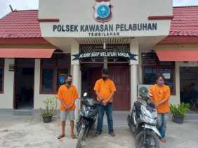 Polisi Tangkap 3 Pelaku Curanmor