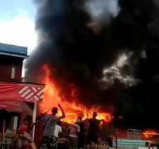 Satu Unit Warung Terbakar, Kepala DPKP Inhil: Kerugian Capai Rp50 Juta