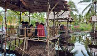 Subhanallah, Ternyata Memang Adem Nongkrong di Pondok Ladang