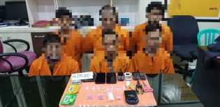 6 Pelaku Narkoba Diamankan, 1 Diantaranya PNS dan 3 Residivis