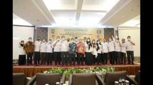 Sekda Inhil Hadiri Acara Pembukaan HLM TPID se-Provinsi Riau dan Tim TP2DD Tahun 2021