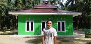 Pak RT Apresiasi Pembangunan Mushollah  Nurul Ikhlas oleh Satgas TMMD