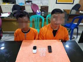 Dua Pria Terlibat TP Narkotika Diringkus Polres Inhil