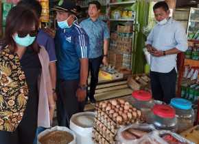 Komisi II Turun ke Pasar, Disdagtri Diminta Gelar Pasar Murah