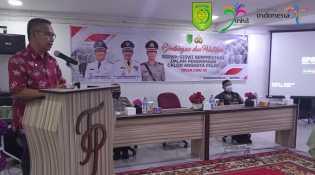 Kepala Disparporabud Inhil Buka Bimbingan dan Pelatihan Siswa-siswa Calon Anggota Polri