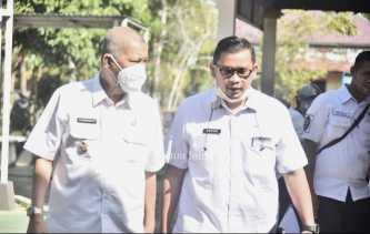 Kepala Disdagtri Inhil Dampingi Wabup dalam Rapat bersama BPH Migas