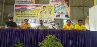 Ferryandi Buka Secara Resmi Muscam ke-X Golkar Kecamatan Pelangiran