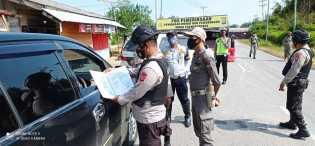 Peniadaan Mudik Lebaran 2021, Polda Riau Dirikan 58 Pos Penyekatan