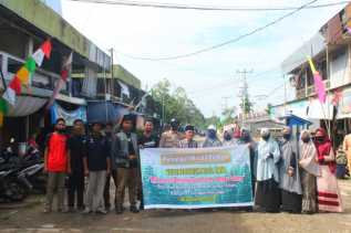 Komunitas Pencinta Alam Lingkungan Inhil Ziarah ke Makam Panglima Tengku Sulung