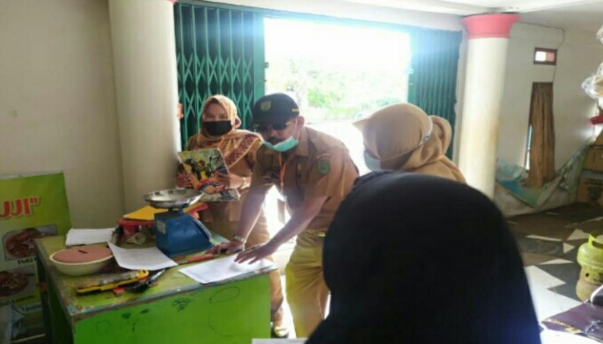 Disdagtri Inhil Lakukan Pendataan Pelayanan dan Pengawasan Alat UTTP