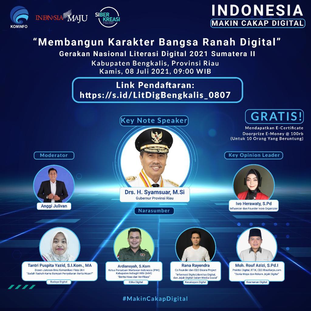 Agar Paham Literasi Digital, Kementerian Kominfo Edukasi Masyarakat Bengkalis, Riau